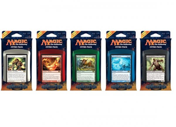 5 Pack d'intro Magic 2014 FR