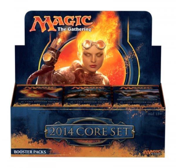 6 boites de 36 boosters Magic 2014 FR